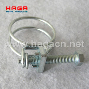 Stainless Steel Heavy Duty French Double Wire Hose Clamp pictures & photos