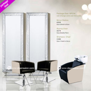 Salon Chair, Washing Chair, Salon Mirror (Package Deal NP234) pictures & photos