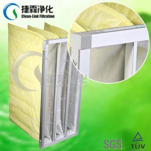 Non-Woven Medium Efficiency Synthetic Fiber Pocket Filter pictures & photos