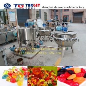 Gelatin and Pectin Jelly & Gummy Candy Depositing Machine Line pictures & photos