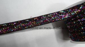 Glitter Ribbon with Metallic Poly or Metallic Ribbon (single face)