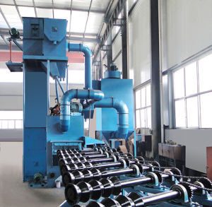 Steel Pipe Outer Wall Cleaning Machine