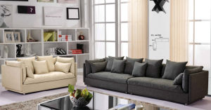 High Quality Europe Type Modern Fabric Sofas (8047) pictures & photos