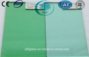 Green Float Glass with Ce, ISO (4 to 10 mm)