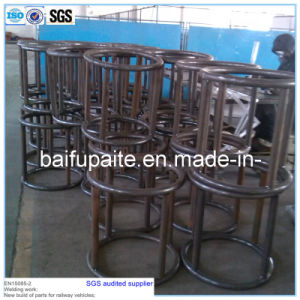 High Quality Wrought Iron Pipe Transportation Rack