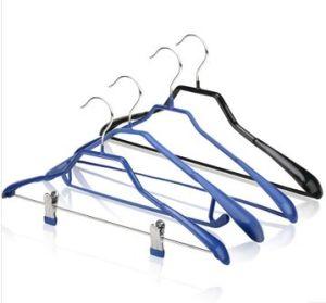 PVC Coated Metal Clothes Hanger (JM8538)