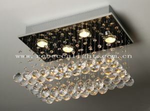 Modern Hotel Project Stainless Steel K9 Crystal Chandelier pictures & photos