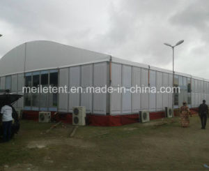 500 People Luxurious Wedding Glass Tent Nigeria Marquees pictures & photos