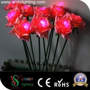 Wedding Decorative Artificial Flower Rose Lights pictures & photos