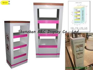Acrylic Cosmetic Display, Cardboard Cosmetics Display Stand (B&C-A066) pictures & photos