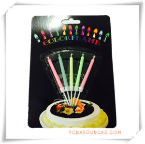 Promotional Colorful Candle for Promotion Gift (PF11003) pictures & photos