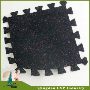 Elastic No Smell 8mm Rubber Mat for Gym pictures & photos
