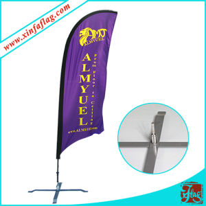 Hot Sale Teardrop Feather Flag Banner pictures & photos