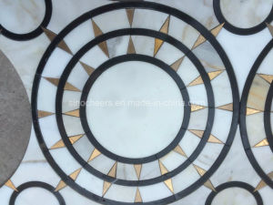 Beautiful Sun Design Marble Tile Wall Art pictures & photos