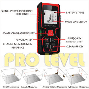80m High Quality Laser Distance Meter (K5) pictures & photos