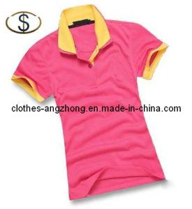 Women Sport T-Shirt, Women Fashion Double Deck Collar Sport Polo Shirts