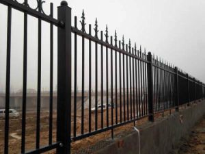 Powder Coated Pregalvanized Security Garrison Fencing Panel pictures & photos