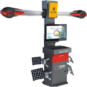 3D-718 Wheel Balancing and Wheel Alignment Machine for Car Service Station