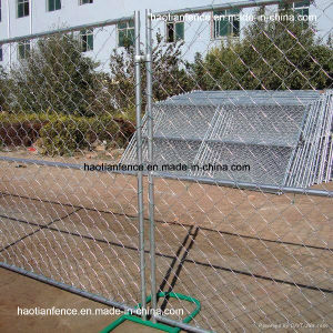 Portable Chain Link Fence Panels pictures & photos