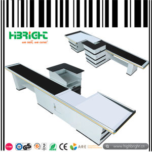 Customized Supermarket Register Cashier Counter pictures & photos
