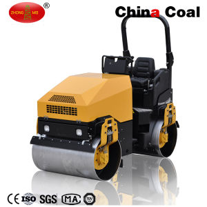 3 Ton Ride on Dual Wheel Full Hydraulic Construction Vibratory Road Roller pictures & photos