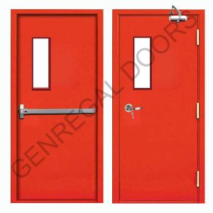 2 Hours Fire Resistant Emergency Exit Steel Door pictures & photos