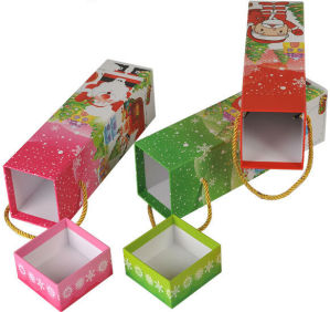 New Christmas Gifts Box with Handle pictures & photos