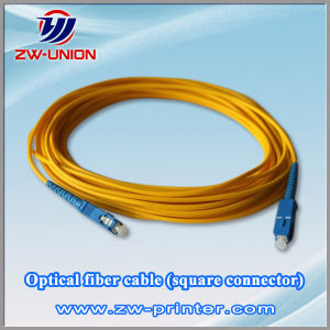 Optical Fiber Cable (square connector) for Infiniti Solvent Printer