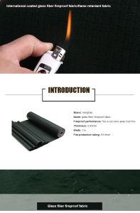 High Strength Fiber Fireproof PVC Coated Fabric Tarp Tent pictures & photos