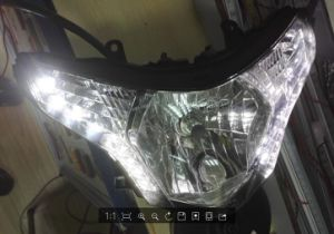 Motorcycle Headlamps High/Low Beam Lm-209 pictures & photos