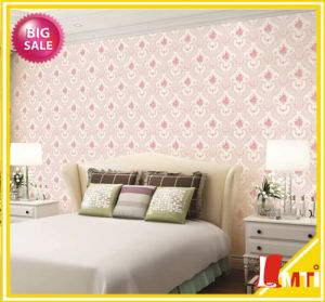 Home Hotel Wall Decoration PVC Vinyl Italy Design Wallpaper pictures & photos