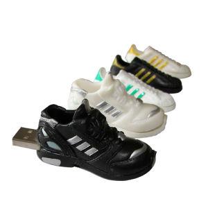 PVC Sports Shoes USB Stick Flash Memory Pen Drive pictures & photos