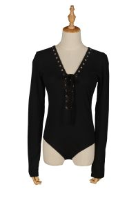 Women Long Sleeve Bodysuit Fashion Clothes pictures & photos