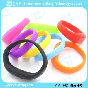Hot Sale Silicone Bracelet USB Flash Drive (ZYF1228)