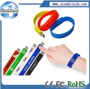 Promotional Bracelet USB Drive Flash pictures & photos