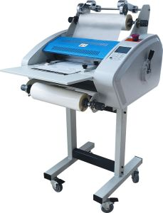 Professional Half Auto Roll Laminator with 360mm (360A) pictures & photos