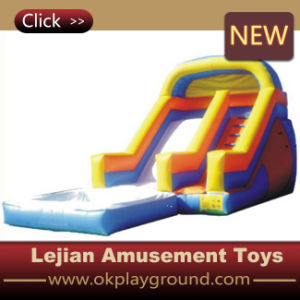 Ce Rainbow Style Inflatable Slide with Blower (C1225-3) pictures & photos