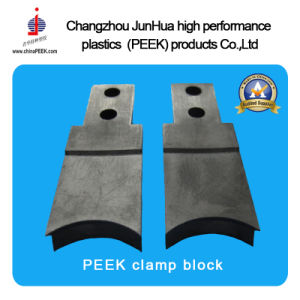 Clamp Block Peek High Temperature Resistance pictures & photos