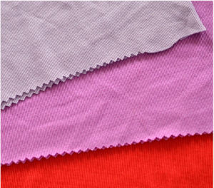 Yarn Dyed Knitted Cotton Spandex Rib Fabricgood Quality Cheap Price pictures & photos