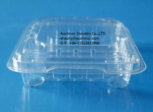 Disposable Plastic Blister Lettuce Clamshell Packaging pictures & photos