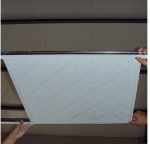2′x2′ Size Gypsum Ceiling Tiles with Ceiling T-Grid pictures & photos
