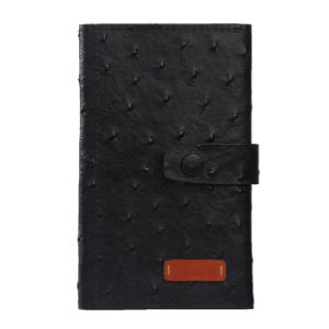 Fake Ostrich Leather Card Holder for Gift (K08250) pictures & photos