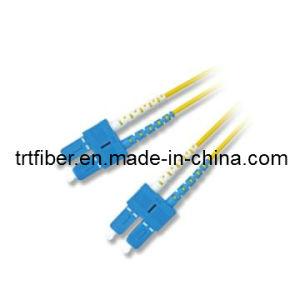 SC/UPC Fiber Optic Patch Cord (Fiber optical jumper) (SC-01) pictures & photos