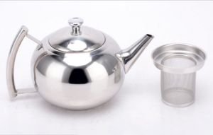 1500ml Stainless Steel Pearl Kettle Coffee Kettle and Teapot (CS-030) pictures & photos