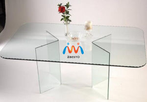 Cheap Tempered Dining Table Glass Countertops pictures & photos