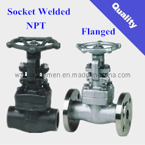 Forged Steel Gate Valve (NPT, SW, RF) pictures & photos