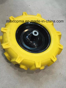 400-8 R1 Flat Free PU Foam Wheel pictures & photos