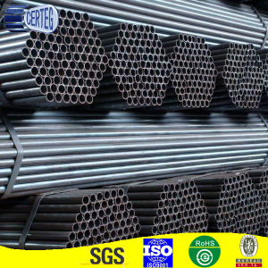 Mild Steel Black Welded Round Steel Pipes pictures & photos