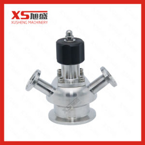 Sg/M Stainless Steel Clamped Aseptic Sterile Sampling Valve pictures & photos