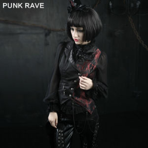 Punk Rave Unusual Gothic Waistcoat Designs for Women (Y-330) pictures & photos
